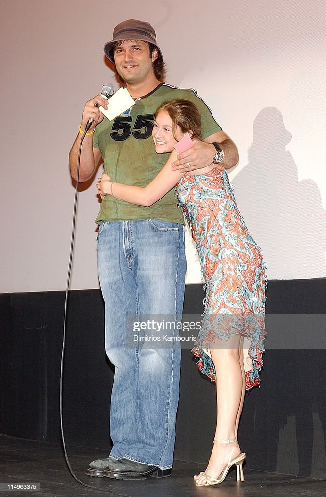 Director Robert Rodriguez and Alexa Vega during 'Spy Kids 3D Game Over' World Premiere After Party at Inter Continental Hotel in Austin Texas United...
