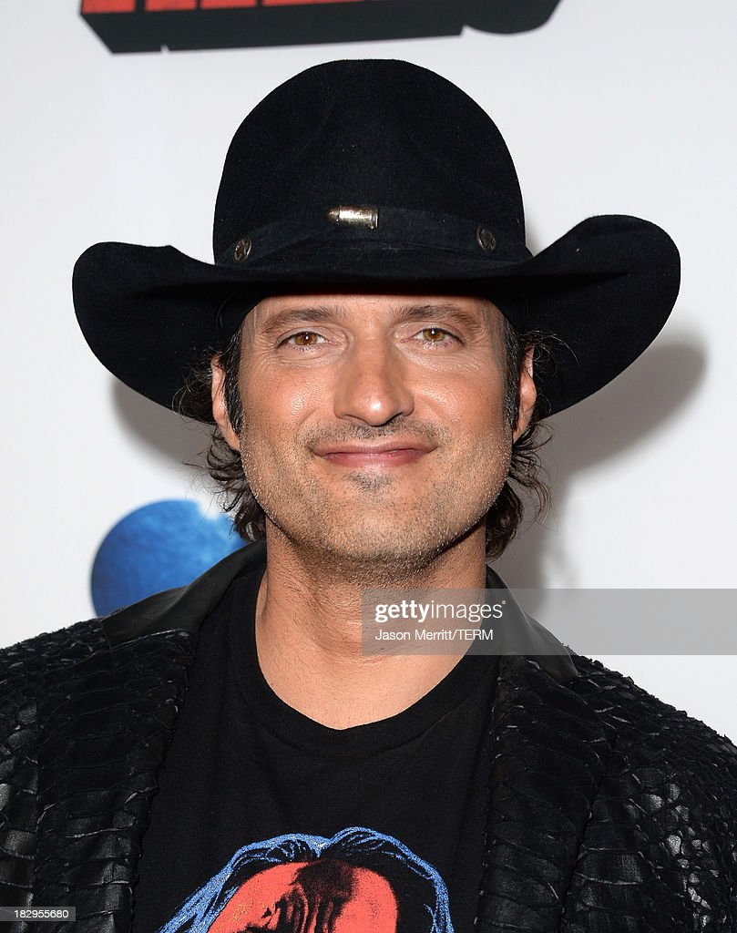 Director Robert Rodriguez arrives at the premiere of Open Road Films' 'Machete Kills' at Regal Cinemas L.A. Live on October 2, 2013 in Los Angeles, California.