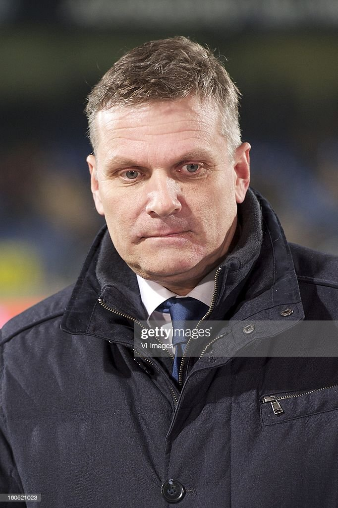 director Robert Veenstra of Heerenveen during the Dutch Eredivisie match between RKC Waalwijk and SC Heerenveen at the Mandemakers Stadium on february 1, 2013 in Waalwijk, The Netherlands