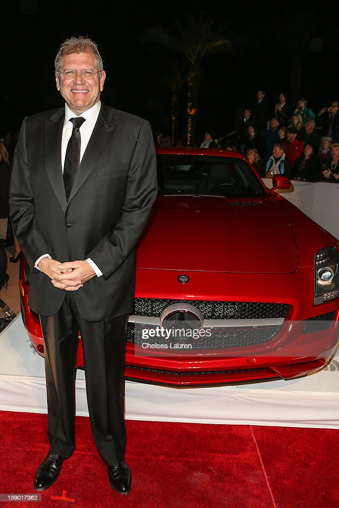 Director Robert Zemeckis arrives in style with Mercedes-Benz at the Palm Springs International Film Festival at the Palm Springs Convention Center on January 5, 2013 in Palm Springs, California.