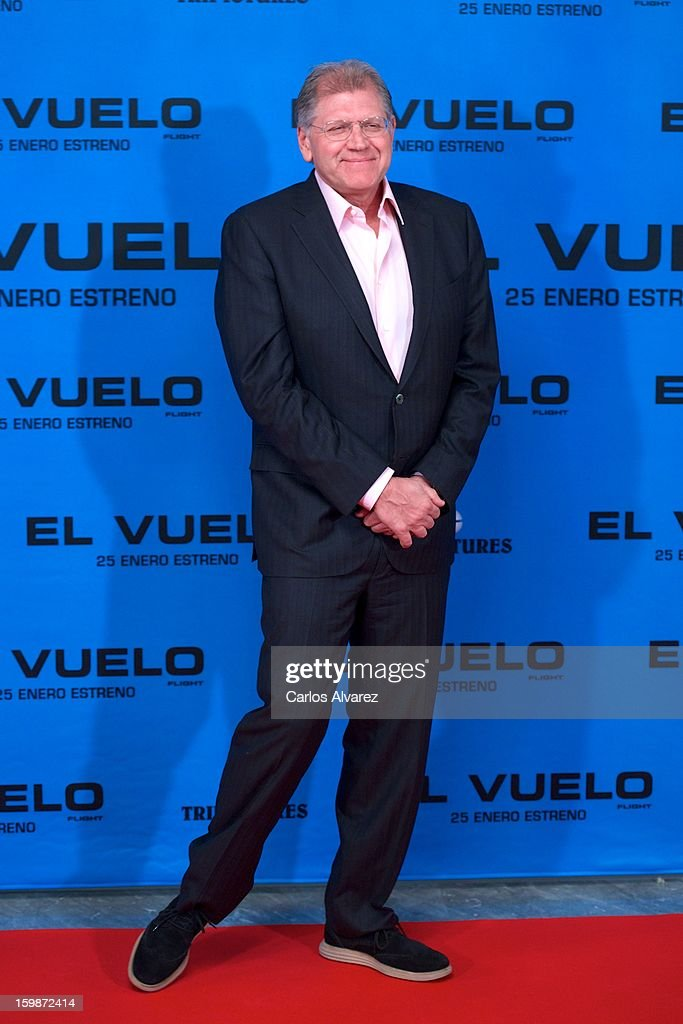 Director Robert Zemeckis attends the 'Flight' (El Vuelo) photocall at the Villamagna Hotel on January 22, 2013 in Madrid, Spain.