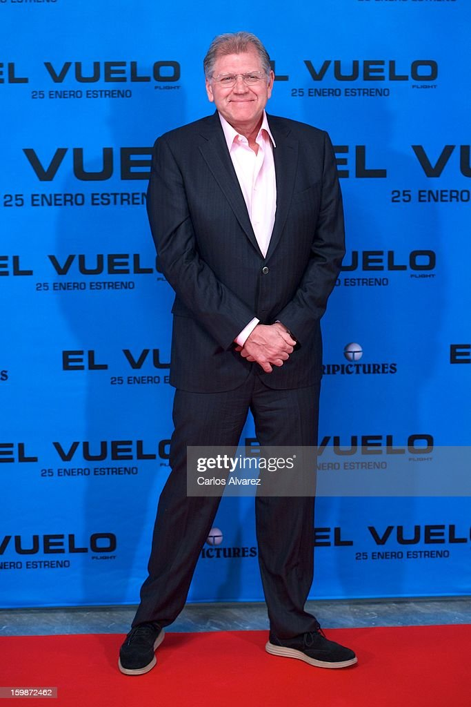 Director <a gi-track='captionPersonalityLinkClicked' href=/galleries/search?phrase=Robert+Zemeckis&family=editorial&specificpeople=211550 ng-click='$event.stopPropagation()'>Robert Zemeckis</a> attends the 'Flight' (El Vuelo) photocall at the Villamagna Hotel on January 22, 2013 in Madrid, Spain.