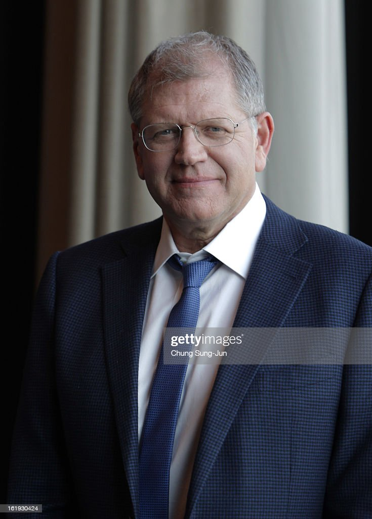 Director <a gi-track='captionPersonalityLinkClicked' href=/galleries/search?phrase=Robert+Zemeckis&family=editorial&specificpeople=211550 ng-click='$event.stopPropagation()'>Robert Zemeckis</a> poses during a photo call at Conrad hotel on February 18, 2013 in Seoul, South Korea. Zemeckis is visiting South Korea to promote his recent film 'Flight' which will be released in South Korea on February 28.