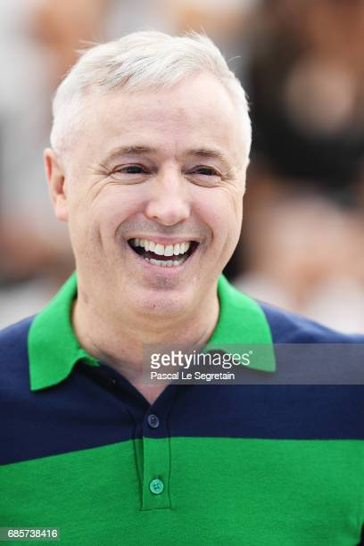Director Robin Campillo attends the '120 Beats Per Minute ' photocall during the 70th annual Cannes Film Festival at Palais des Festivals on May 20...