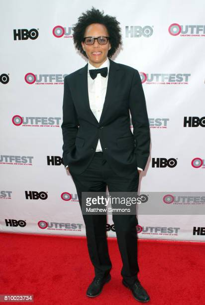 Director Robin Cloud attends the opening night gala of 'God's Own Country' at the 2017 Outfest Los Angeles LGBT Film Festival at Orpheum Theatre on...