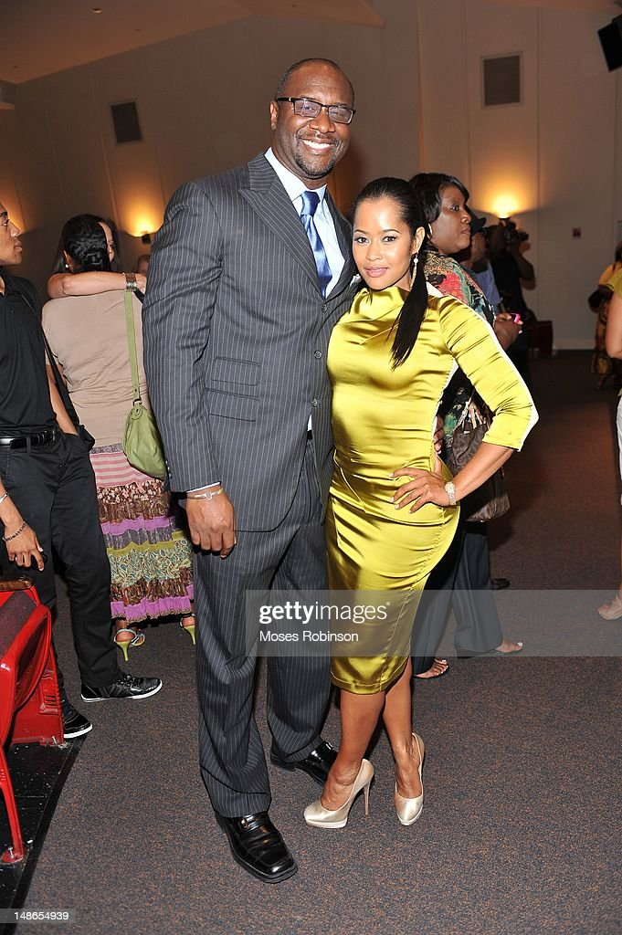 Director Roger Bobb and actress Lisa Wu Hartwell Attend Bobbcat Films presents Atlanta screening of 'Raising Izzie' at Woodruff Arts Center on July...