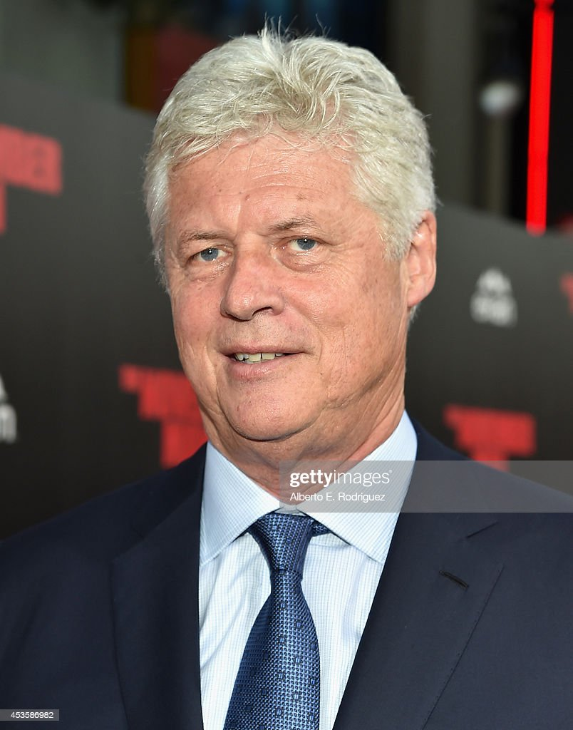 Director Roger Donaldson arrives to the World Premiere of Relativity Media's 'The November Man' at the TCL Chinese Theatre on August 13 2014 in...