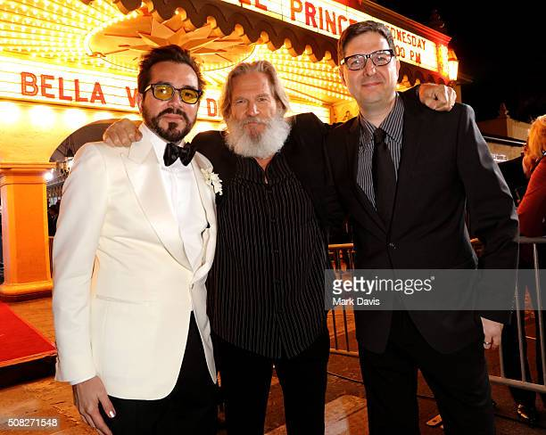 Director Roger Durling Actor Jeff Bridges and director Mark Osborne attend the opening night presentation of 'The Little Prince' at the Arlington...