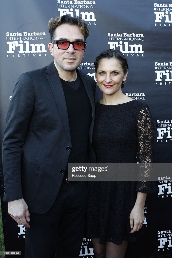 SBIFF director Roger Durling and producer Antonia Zegers attends the 28th Santa Barbara International Film Festival Gala Screening Of 'No' on January...