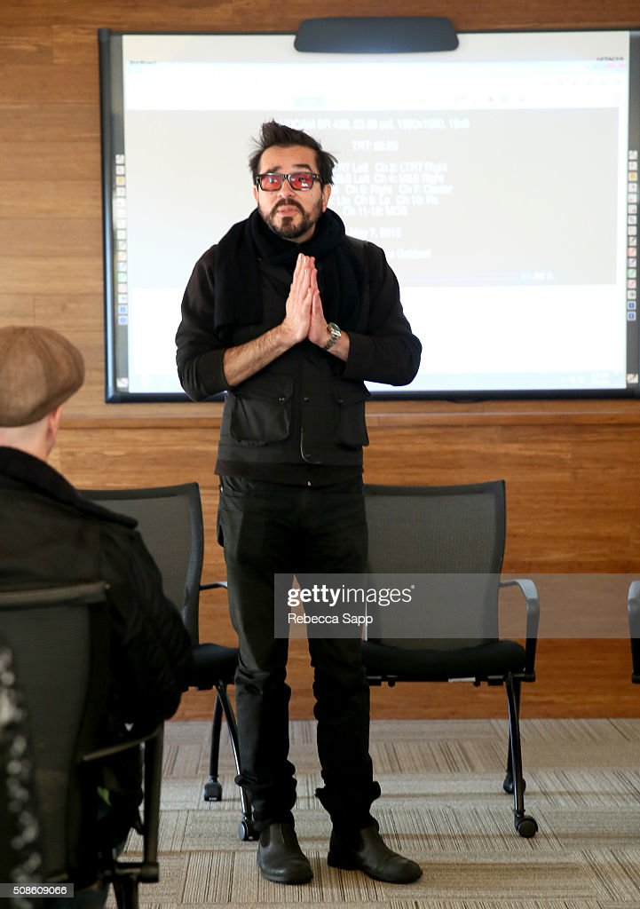 Director Roger Durling speaks at the Film Studies Welcome at the Santa Barbara Foundation at the 31st Santa Barbara International Film Festival on February 5, 2016 in Santa Barbara, California.