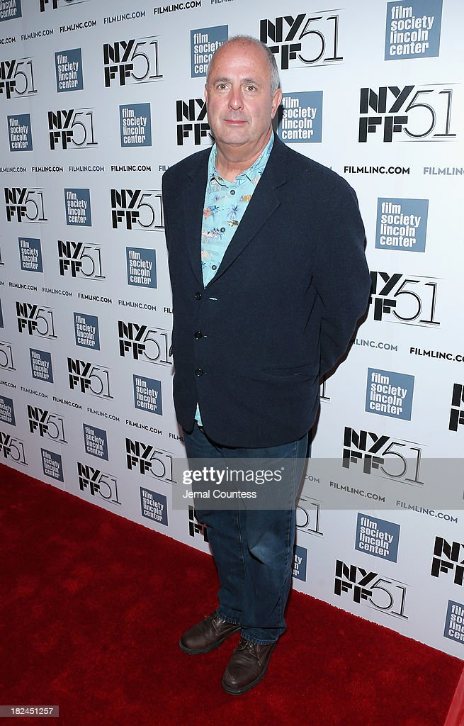 Director Roger Michell attends the 'Le Week-End' premiere during the 51st New York Film Festival at Alice Tully Hall at Lincoln Center on September 29, 2013 in New York City.