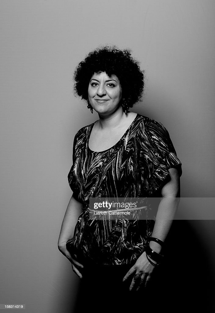 Director Rola Nashef during a portrait session on day five of the 9th Annual Dubai International Film Festival held at the Madinat Jumeriah Complex on December 13, 2012 in Dubai, United Arab Emirates.