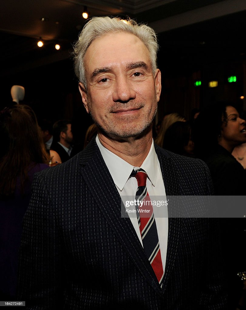 Director Roland Emmerich arrives at 'An Evening' benifiting The L.A. Gay & Lesbian Center at the Beverly Wilshire Hotel on March 21, 2013 in Beverly Hills, California.