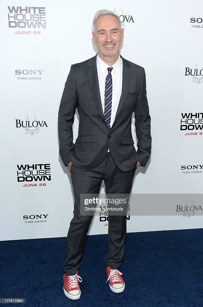 Director Roland Emmerich attends the 'White House Down' New York premiere at Ziegfeld Theater on June 25, 2013 in New York City.