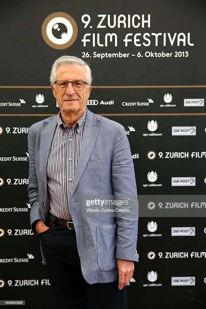 Director Rolf Lyssy, German Language Feature Film Jury Member, attends the Jury Photocall during the Zurich Film Festival 2013 on October 4, 2013 in Zurich, Switzerland.