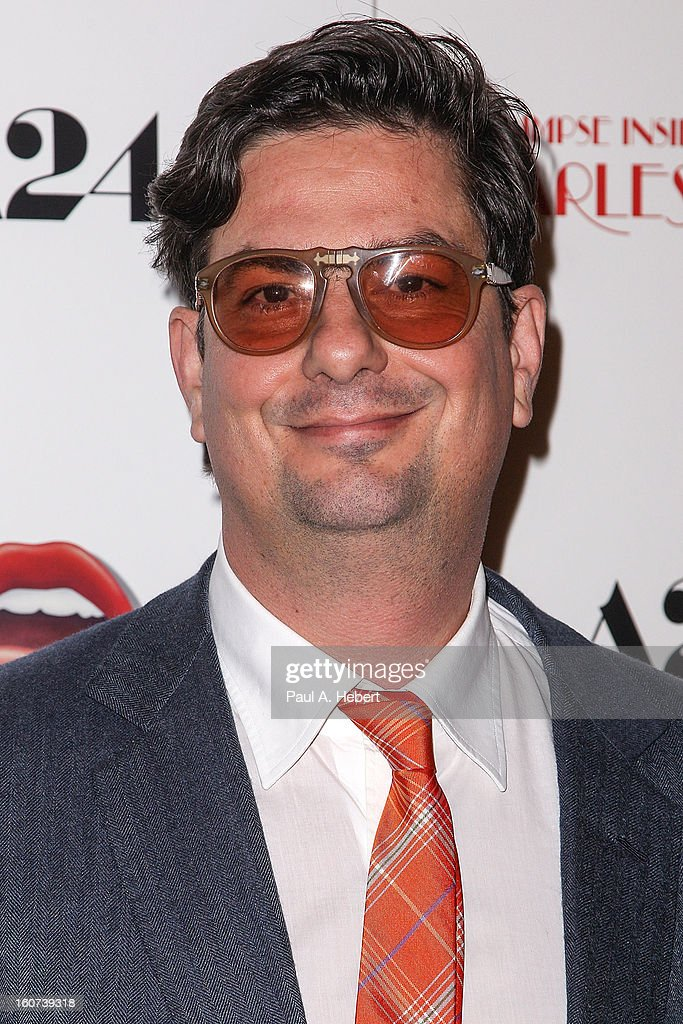 Director Roman Coppola arrives at the premiere of A24's 'A Glimpse Inside The Mind of Charles Swan III' held at the ArcLight Hollywood on February 4, 2013 in Hollywood, California.