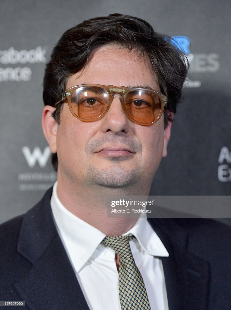 Director Roman Coppola arrives to the after party for the premiere of 'Four Stories' at The W Hotel on December 4, 2012 in Westwood, California.