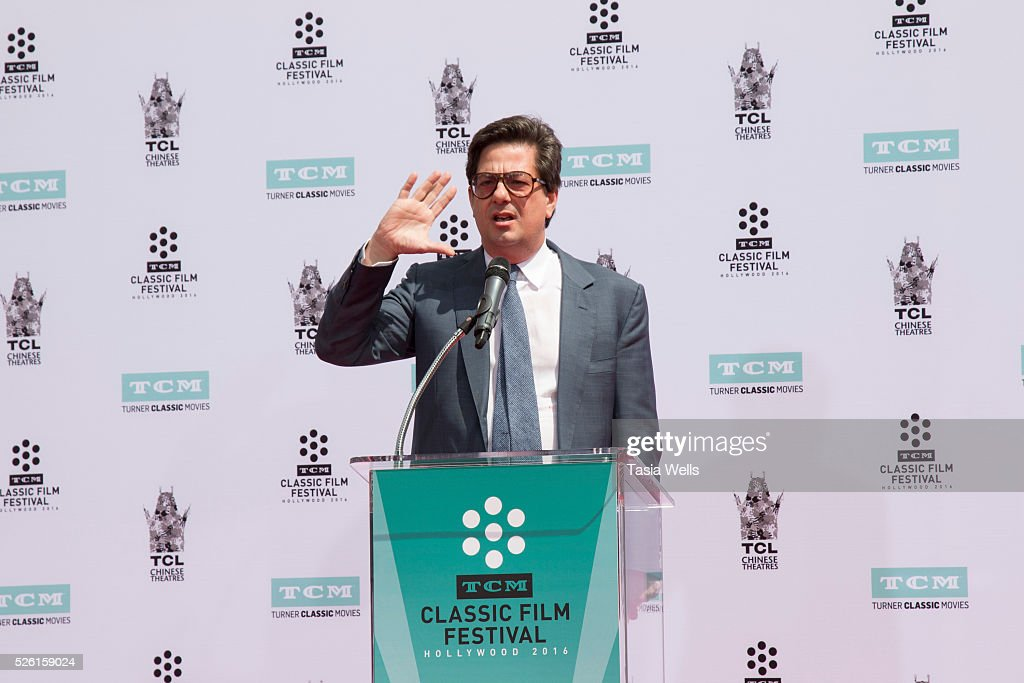 Director <a gi-track='captionPersonalityLinkClicked' href=/galleries/search?phrase=Roman+Coppola&family=editorial&specificpeople=615097 ng-click='$event.stopPropagation()'>Roman Coppola</a> attends TCM Honors Academy Award winning filmmaker Francis Ford Coppola with a Hand and Footprint Ceremony at TCL Chinese Theatre IMAX on April 29, 2016 in Hollywood, California.