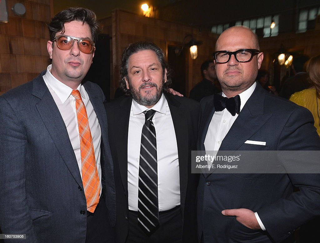 Director <a gi-track='captionPersonalityLinkClicked' href=/galleries/search?phrase=Roman+Coppola&family=editorial&specificpeople=615097 ng-click='$event.stopPropagation()'>Roman Coppola</a>, executive producer Robert Maron and producer Youree Henley attend the after party fot the Los Angeles premiere of A24's 'A Glimpse Inside The Mind Of Charles Swan III' at ArcLight Hollywood at ArcLight Hollywood on February 4, 2013 in Hollywood, California.
