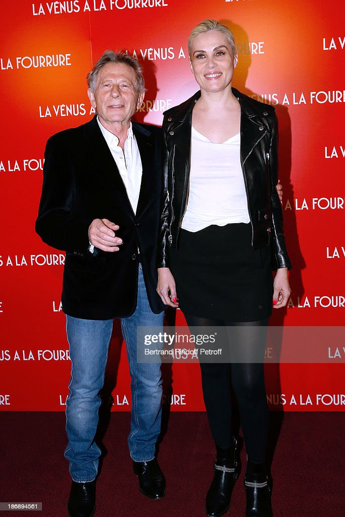 'La Venus A La Fourrure - Venus In Fur' Premiere At Cinema Gaumont Marignan
