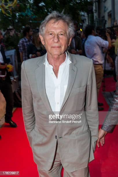 Director Roman Polanski arrives to the Paris premiere of 'Blue Jasmine' at UGC Cine Cite Bercy on August 27 2013 in Paris France