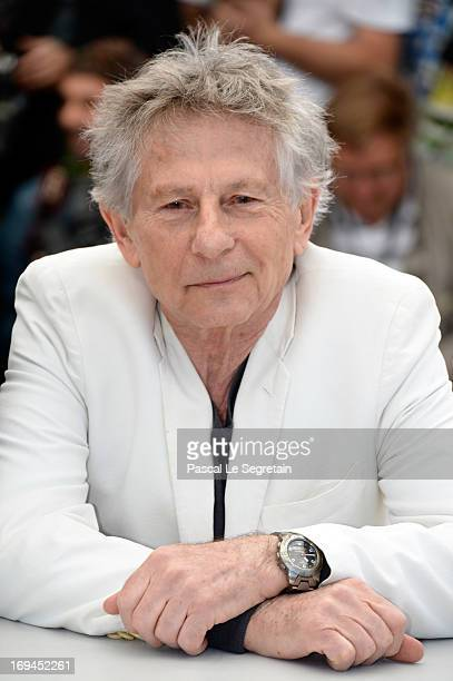 Director Roman Polanski attends the 'La Venus A La Fourrure' Photocall during the 66th Annual Cannes Film Festival on May 25 2013 in Cannes France