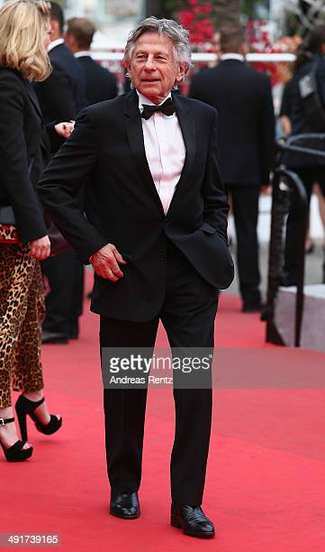 Director Roman Polanski attends the 'Saint Laurent' premiere during the 67th Annual Cannes Film Festival on May 17 2014 in Cannes France