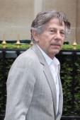 Director Roman Polanski leaves the 'Plaza Athenee'' on April 28 2011 in Paris France