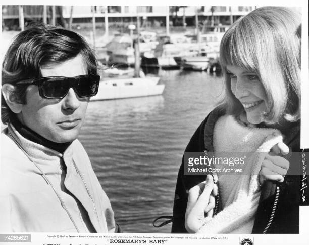 Director Roman Polanski with actress Mia Farrow on the set of the film 'Rosemary's Baby' Photo by Michael Ochs Archives/Getty Images