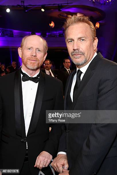 Director Ron Howard and actor Kevin Costner attend the 20th annual Critics' Choice Movie Awards at the Hollywood Palladium on January 15 2015 in Los...