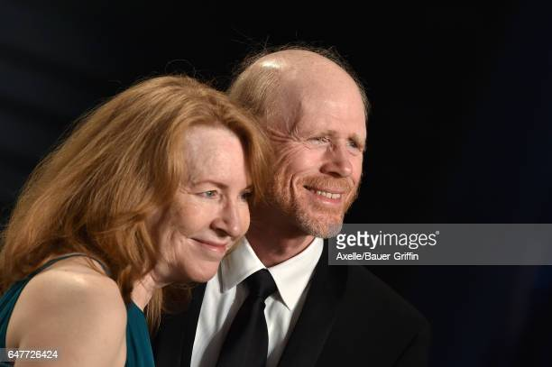 Director Ron Howard and Cheryl Howard arrive at the 2017 Vanity Fair Oscar Party Hosted By Graydon Carter at Wallis Annenberg Center for the...