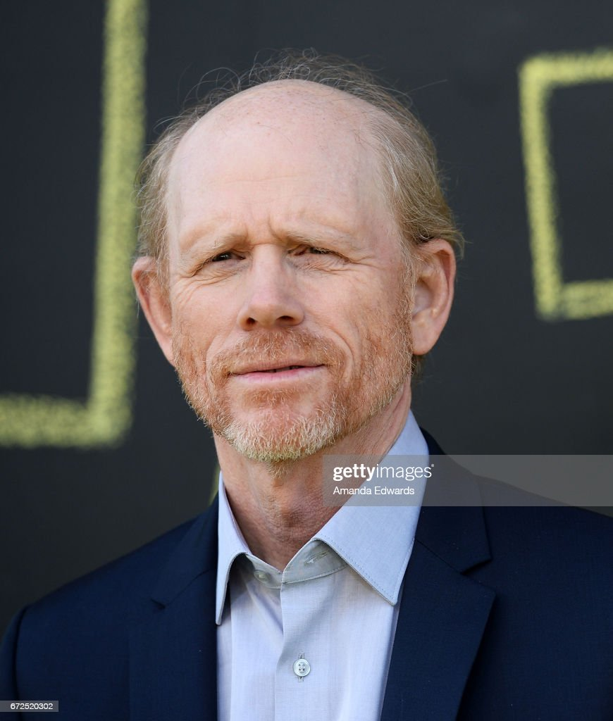 Director Ron Howard arrives at the premiere of National Geographic's 'Genius' at the Fox Bruin Theater on April 24, 2017 in Los Angeles, California.