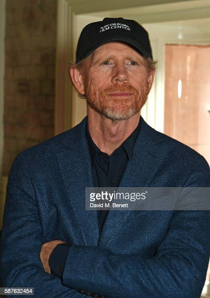 Director Ron Howard attends a special screening of new documentary 'The Beatles Eight Days A Week The Touring Years' at the Vue West End on August 9...