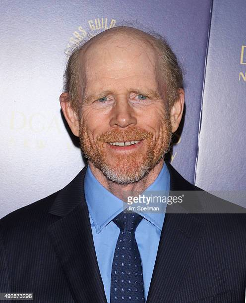 Director Ron Howard attends the DGA Honors Gala 2015 at the DGA Theater on October 15 2015 in New York City