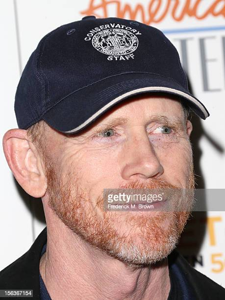 Director Ron Howard attends the Premiere Of 'American Masters Inventing David Geffen' at The Writers Guild of America on November 13 2012 in Beverly...