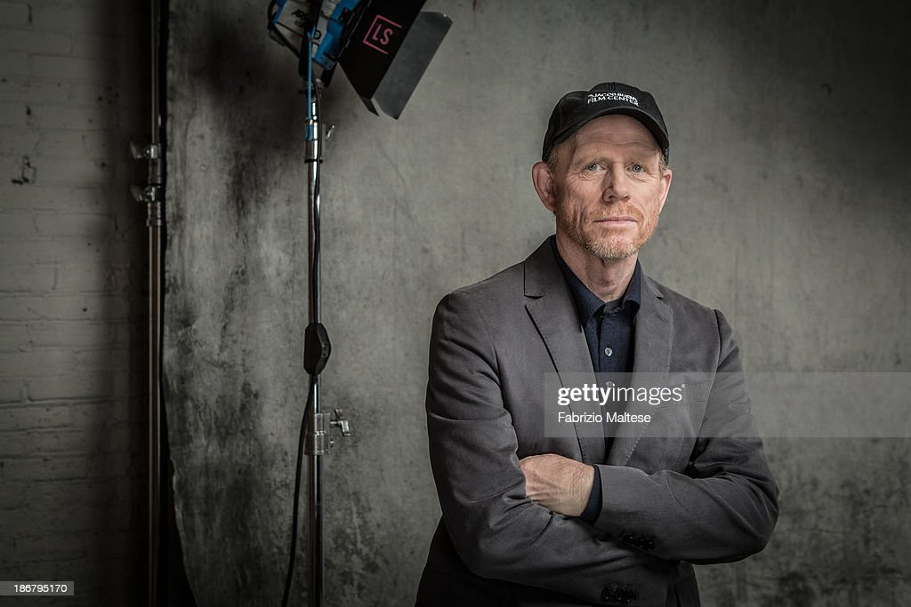 Director <a gi-track='captionPersonalityLinkClicked' href=/galleries/search?phrase=Ron+Howard+-+Director&family=editorial&specificpeople=201972 ng-click='$event.stopPropagation()'>Ron Howard</a> is photographed for The Hollywood Reporter during the 38th Toronto International Film Festival on September 9, 2013 in Toronto, Ontario.