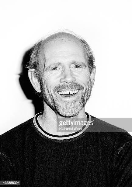 Director Ron Howard is photographed for The Wrap on October 26 2015 in Los Angeles California PUBLISHED IMAGE