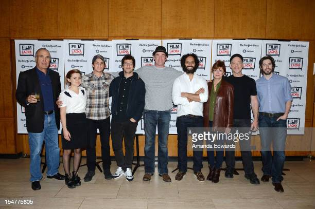 Director Ron Shelton actress Mae Whitman actor Johnny Simmons actor Andy Samberg actor David Koechner actor Jason Mantzoukas actress Susan Sarandon...