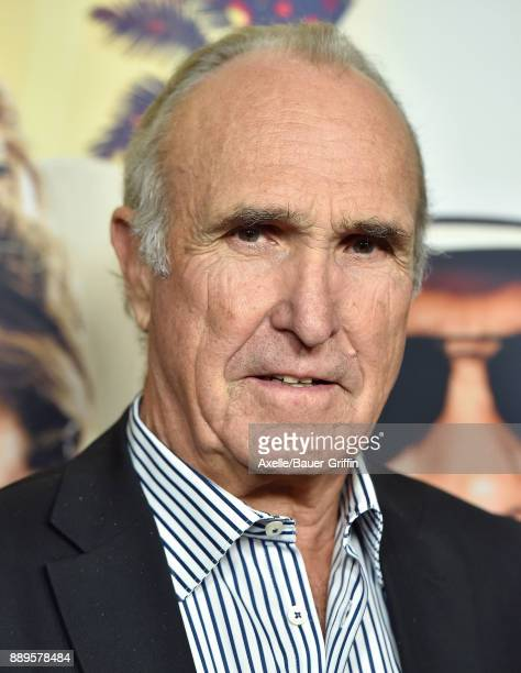 Director Ron Shelton arrives at the premiere of 'Just Getting Started' at ArcLight Hollywood on December 7 2017 in Hollywood California