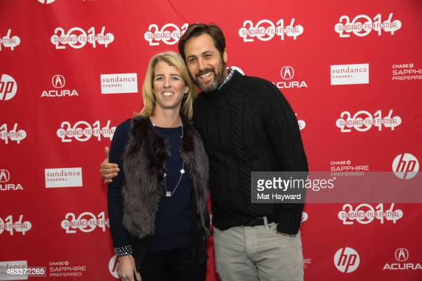 Director Rory Kennedy and writer Mark Bailey attend the 'Last Days in Vietnam' premiere at The Marc Theatre on January 17 2014 in Park City Utah