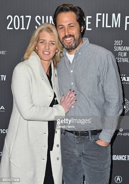 Director Rory Kennedy and Writer Mark Bailey attend the 'TAKE EVERY WAVE The Life Of Laird Hamilton' Premiere on day 4 of the 2017 Sundance Film...