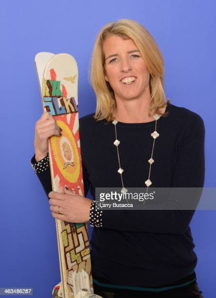 Director Rory Kennedy poses for a portrait during the 2014 Sundance Film Festival at the Getty Images Portrait Studio at the Village At The Lift...