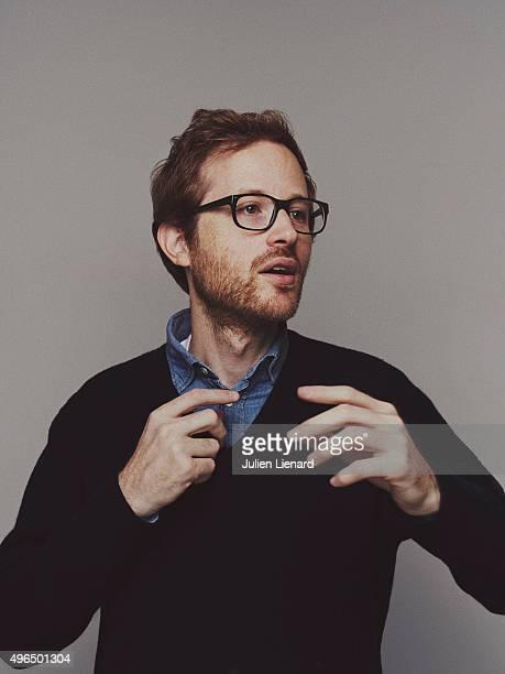 Director Rudi Rosenberg is photographed for Self Assignment on October 5 2015 in Namur Belgium