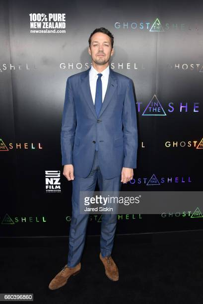 Director Rupert Sanders attends Paramount Pictures DreamWorks Pictures host the premiere of 'Ghost in the Shell' at AMC Lincoln Square Theater on...