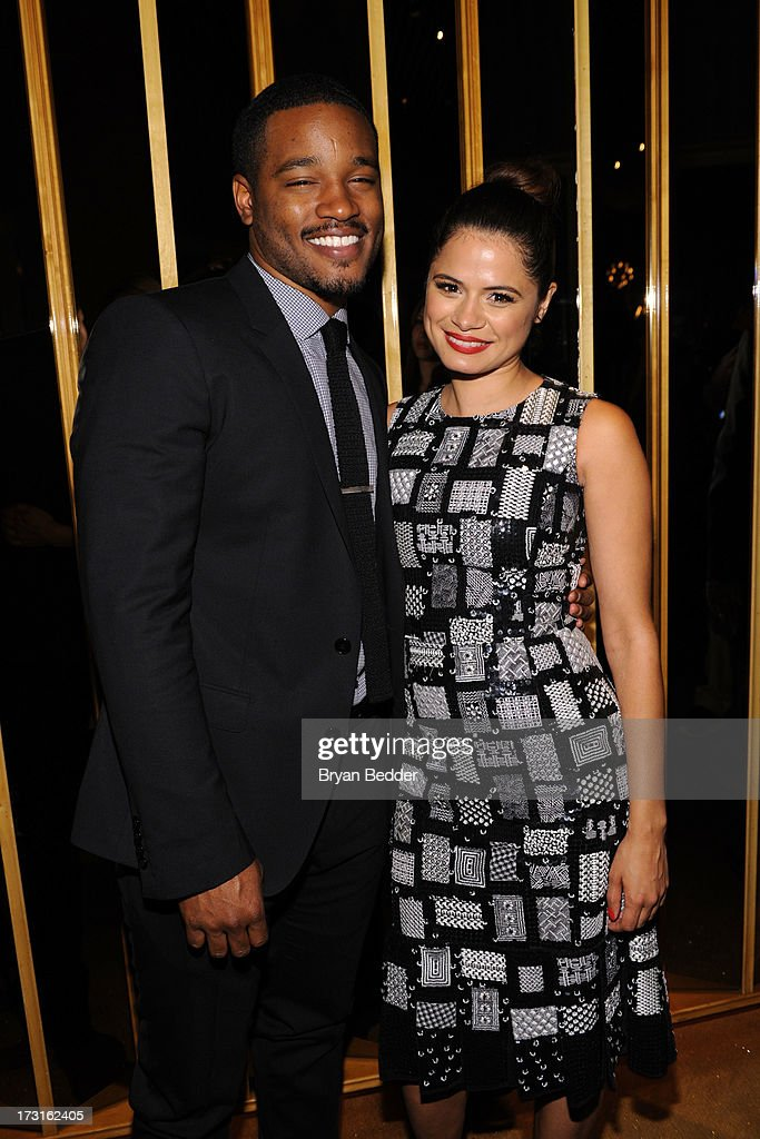 Director Ryan Coogler and actress Melonie Diaz attend the after party at the New York premiere of FRUITVALE STATION, hosted by The Weinstein Company, BET Films and CIROC Vodka on July 8, 2013 in New York City.