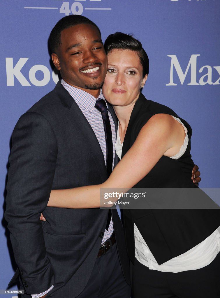 Director <a gi-track='captionPersonalityLinkClicked' href=/galleries/search?phrase=Ryan+Coogler&family=editorial&specificpeople=7316581 ng-click='$event.stopPropagation()'>Ryan Coogler</a> (L) and cinematographer Rachel Morrison attend Women In Film's 2013 Crystal + Lucy Awards at The Beverly Hilton Hotel on June 12, 2013 in Beverly Hills, California.