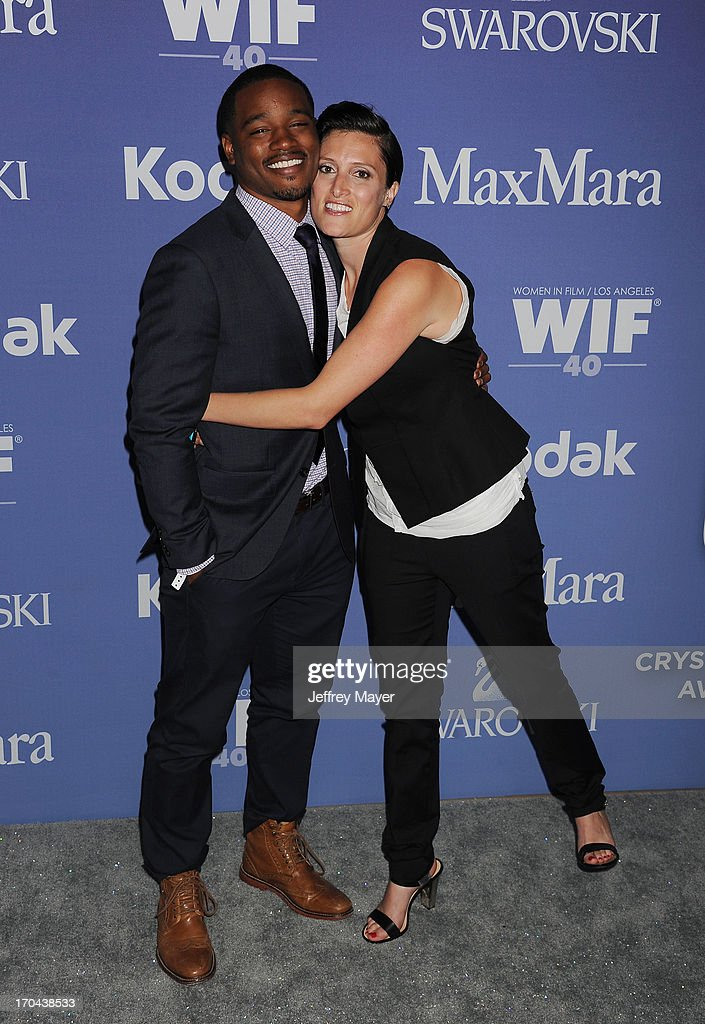 Director Ryan Coogler (L) and cinematographer Rachel Morrison attend Women In Film's 2013 Crystal + Lucy Awards at The Beverly Hilton Hotel on June 12, 2013 in Beverly Hills, California.