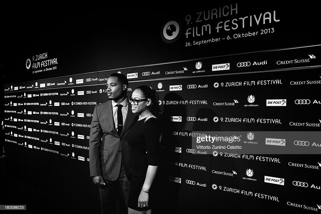 Director Ryan Coogler and his girlfriend attend 'Fruitvale Station' Green Carpet during the 9th Zurich Film Festival on September 27, 2013 in Zurich, Switzerland.