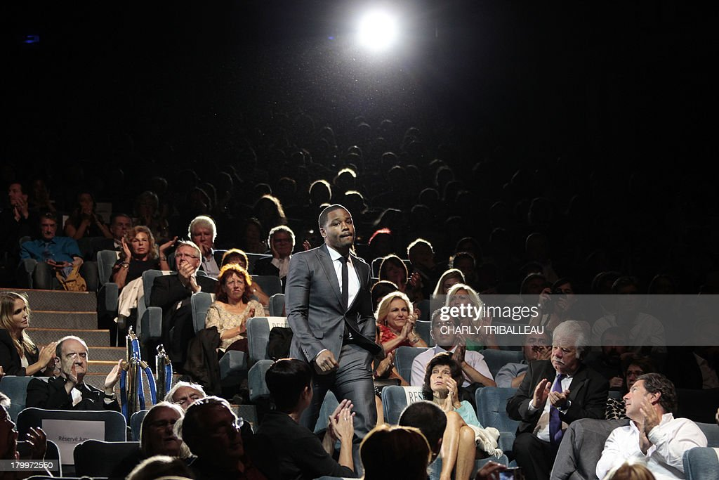US director Ryan Coogler arrives to receive the award of the 'Cartier revelation prize' and the 'Deauville audience award' with his film 'Fruitvale station' on September 7, 2013 at the Deauville US Film Festival, in the French northwestern sea resort of Deauville.