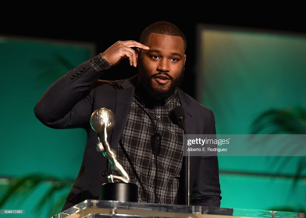 Director <a gi-track='captionPersonalityLinkClicked' href=/galleries/search?phrase=Ryan+Coogler&family=editorial&specificpeople=7316581 ng-click='$event.stopPropagation()'>Ryan Coogler</a> attends the 47th NAACP Image Awards Non-Televised Awards Ceremony on February 4, 2016 in Pasadena, California.